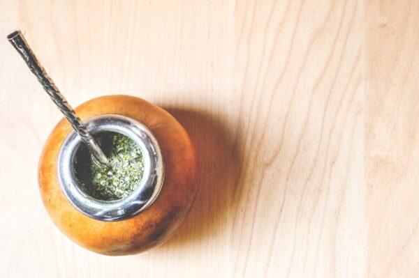 Bombilla Kalebas Mate thee Zuid Amerika